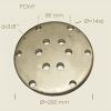 Flanschplatte 6 Loch 200 mm