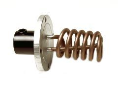 Heizflansch Camptel Spirale 1500W, 110 mm 4 Loch, mit Dichtung