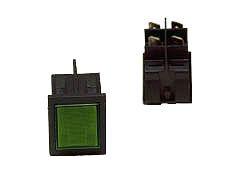 Schalter grün 230 V