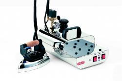 Dampfbügeler 2,5 ltr. mit Druckanzeige und Bügeleisen