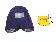 Cissel PT 474 V. Topperbezug NY blau,mit Polster